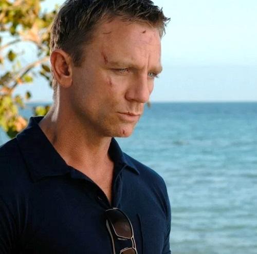 Daniel Craig James Bond Casino Royale Sunspel Riviera Polo Shirt
