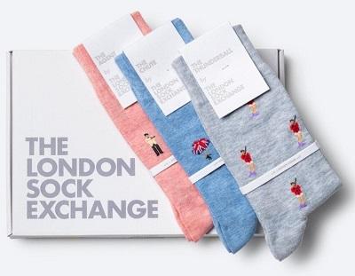 London Sock Exchange James Bond socks