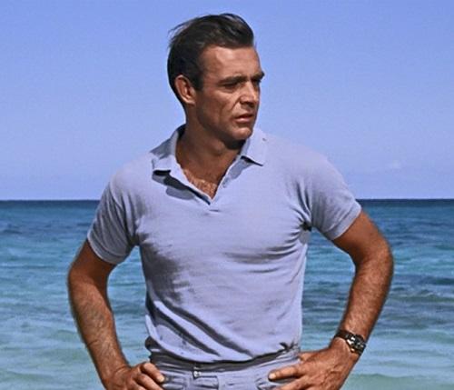 Sean Connery James Bond Dr. No polo shirt