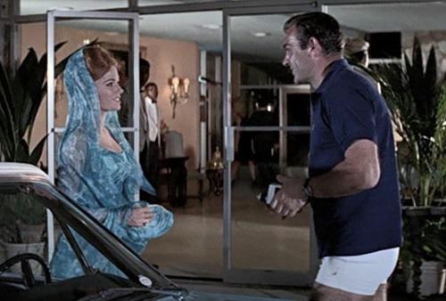 Sean Connery James Bond Thunderball Fred Perry Polo Shirt