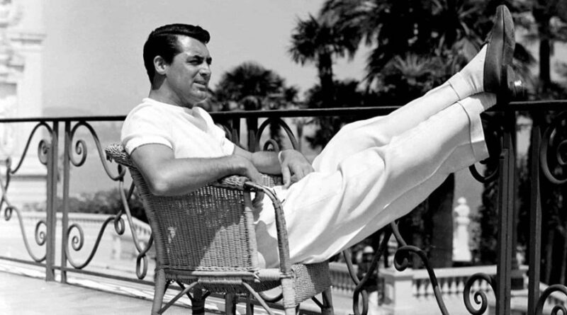Cary Grant Summer Style Icon The Golden Age of Hollywood