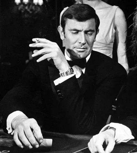 George Lazenby James Bond Rolex Submariner