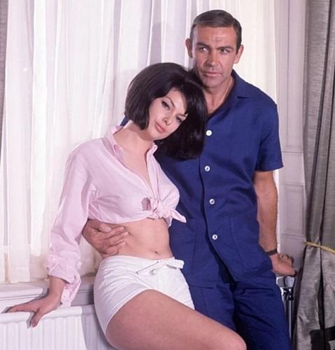 James Bond Thunderball Shirt Sean Connery
