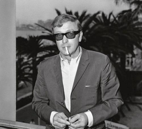 Michael Caine Cannes 1960s sunglasses