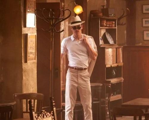 Michael Fassbender X Men First Class panama hat