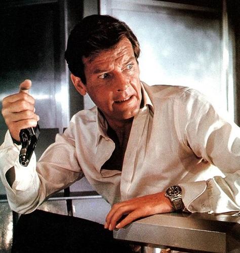 Roger Moore James Bond Rolex Submariner