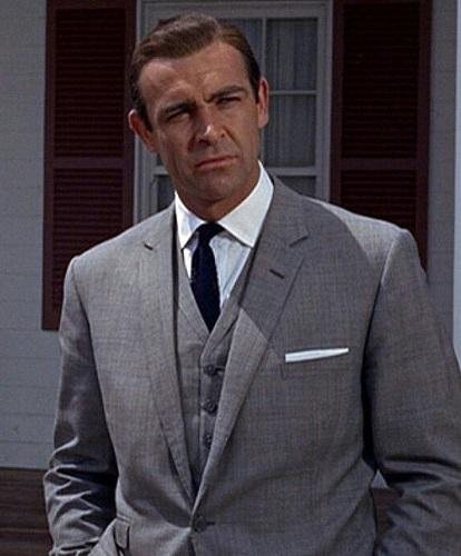 Sean Connery James Bond Goldfinger Glen Plaid suit