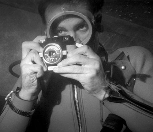 Sean Connery James Bond Thunderball SCUBA Diving photography