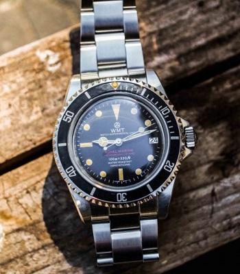 James Bond Rolex Submariner 5513 affordable alternative