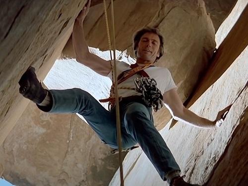 Clint Eastwood The Eiger Sanction Rock Climbing