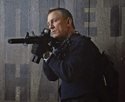 Daniel Craig James Bond No Time To Die Tactical Outfit