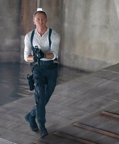 Daniel Craig James Bond No Time To Die Tactical Outfit boots