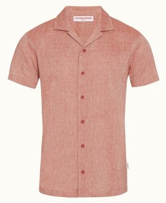 Alternative Sean Connery James Bond Thunderball Linen Shirt
