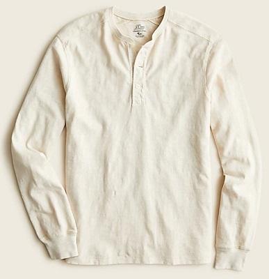 budget James Bond Henley shirt
