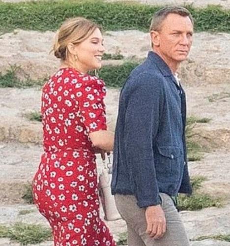 Daniel Craig James Bond No Time To Die Matera