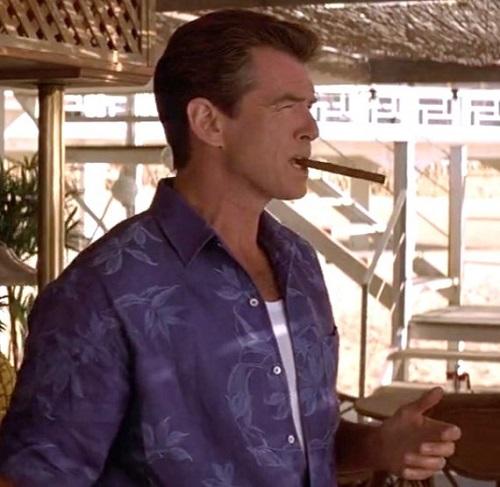 Pierce Brosnan James Bond Die Another Day Cuba Cigar
