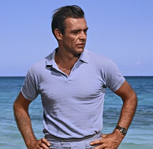 Sean Connery James Bond Dr No Beach