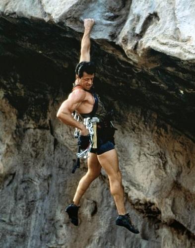 Sylvester Stallone Rock Climbing Cliff Hanger