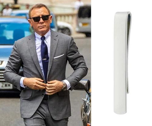 Daniel Craig James Bond No Time To Die Benson and Clegg Tie Slide