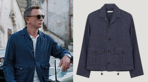 Daniel Craig James Bond No Time To Die Connolly Matera Jacket