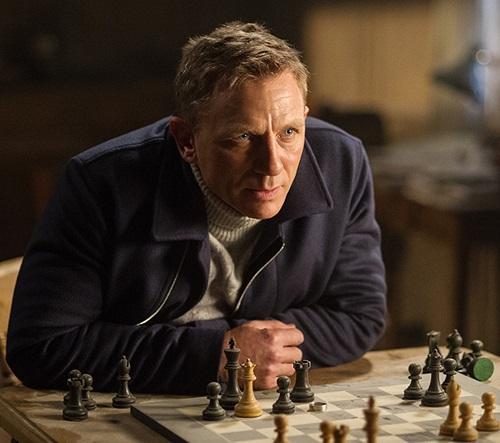 Daniel Craig James Bond SPECTRE N.Peal roll neck sweater