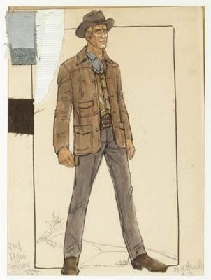 Edith Head design for the Paul Newman Butch Cassidy Jacket
