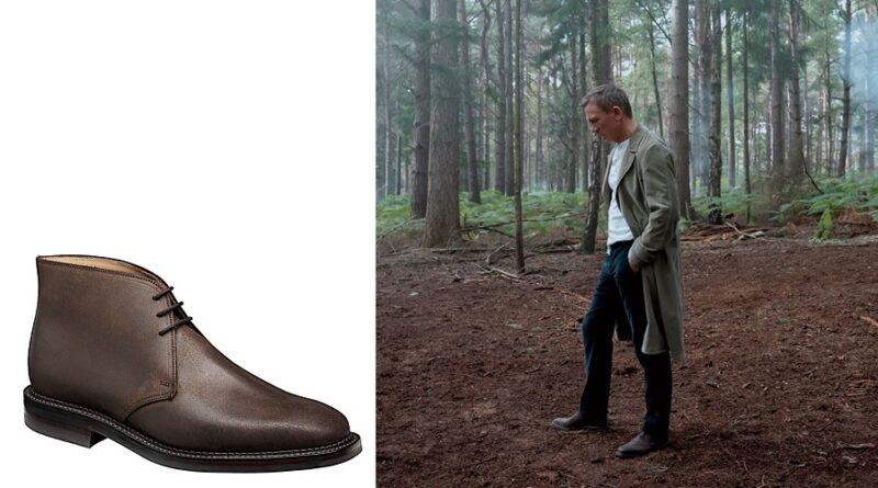 James Bond No Time To Die Crockett & Jones Molton Chukka boots