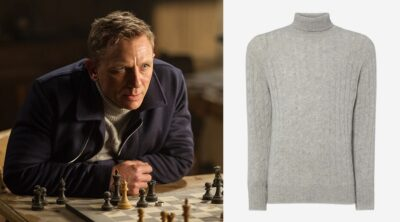 James Bond SPECTRE Roll Neck Sweater