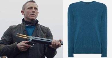 James Bond Skyfall Scotland Sweater