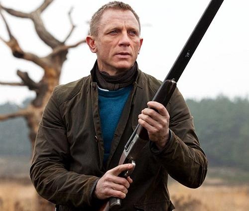 Daniel Craig James Bond Skyfall N.Peal 007 Sweater