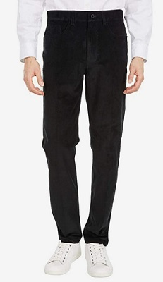 James Bond No Time To Die Black Corduroy Trousers affordable alternative