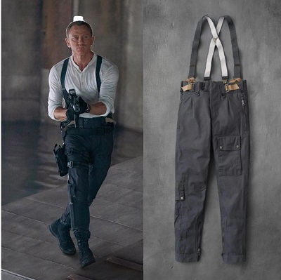Daniel Craig James Bond No Time To Die NPeal Tactical Trousers