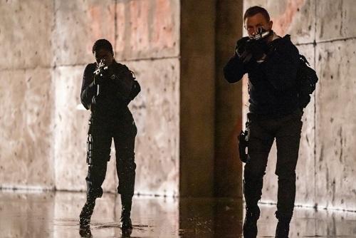 Daniel Craig Lashana Lynch No Time To Die Commando