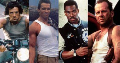 80s Action Hero Style