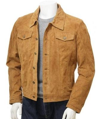 Daniel Craig suede trucker jacket alternative