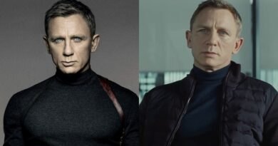Daniel Craig James Bond SPECTRE mock neck sweater