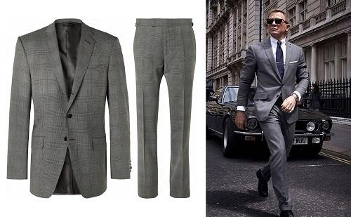Daniel Craig James Bond No Time To Die Tom Ford OConner suit