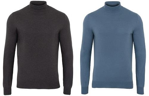 James Bond SPECTRE mock neck sweater affordable alternative