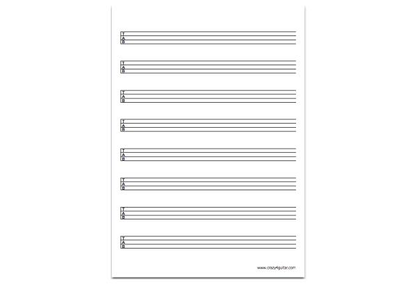 4-string bass tab thumbnail