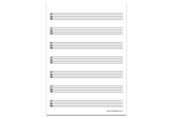 5-string bass tab thumbnail