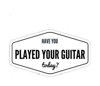 Have you played your guitar today?