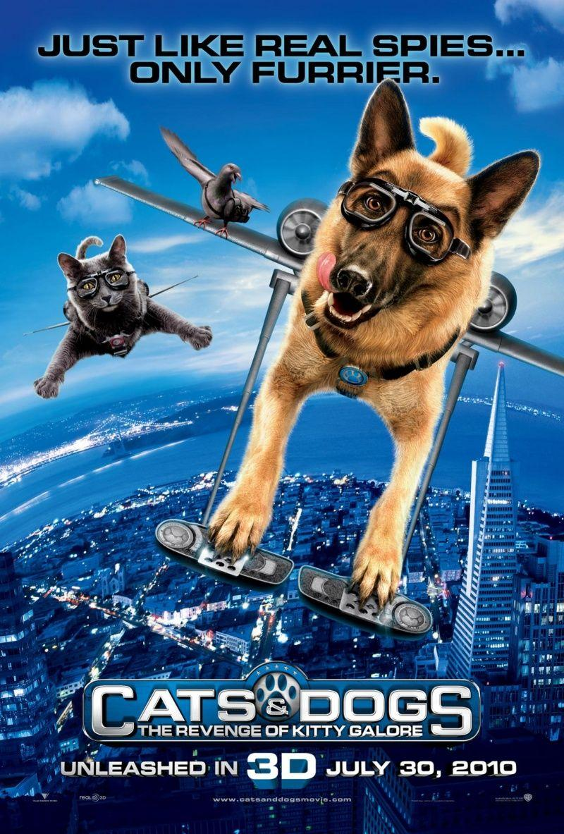 COMO PERROS Y GATOS 2 - Cats & Dogs: The Revenge of Kitty Galore (Cats and Dogs 2) - PELICULA ONLINE