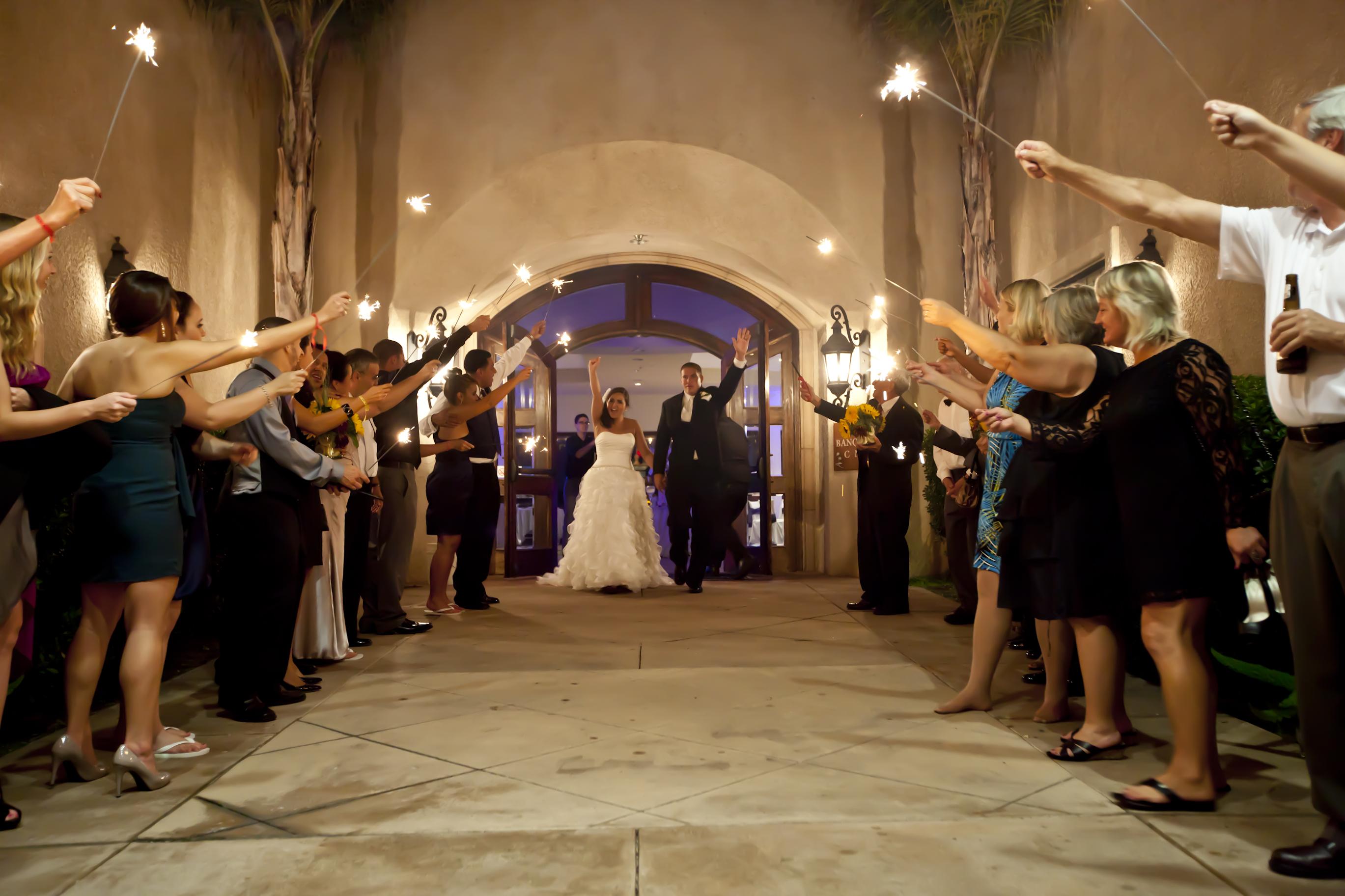 Wedding Sparkler Exit Missouri