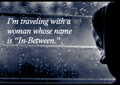 traveling woman image