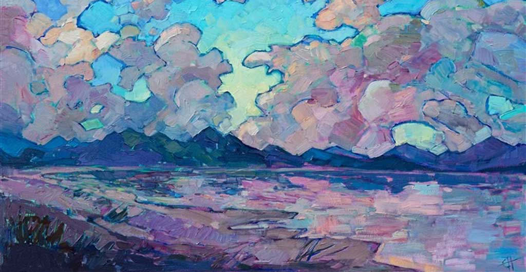 ART TODAY 06.23.17: Clouds Above by Erin Hanson