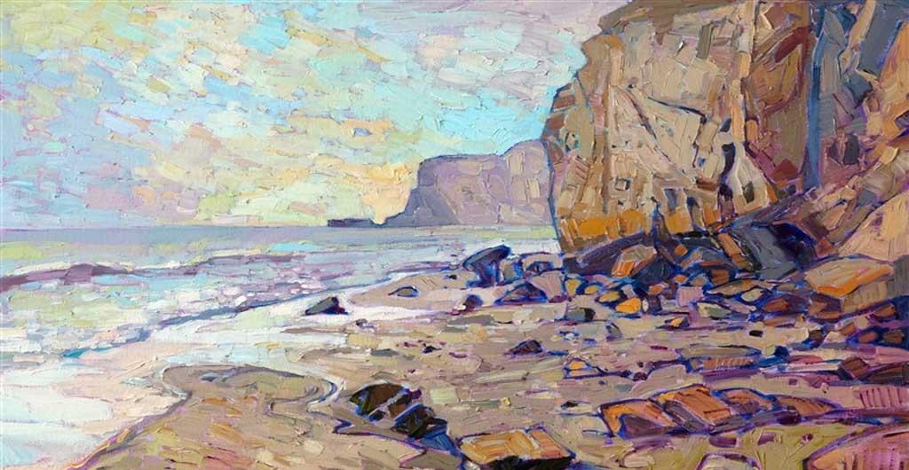 Erin Hanson's Rocky Shore