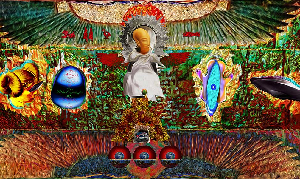 """ENCORE of Leo Garcia's """"My Alien Abduction"""" – the exhibit that brought cultural Abduction & Appropriation to the forefront in L. A. + video trailer"""