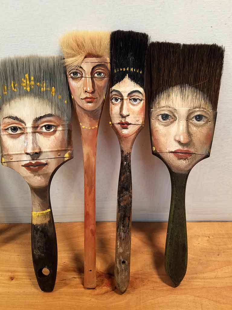 ART TODAY 020518 Four ladies by Alexandra Dillon + Acrostic Interview starts today…