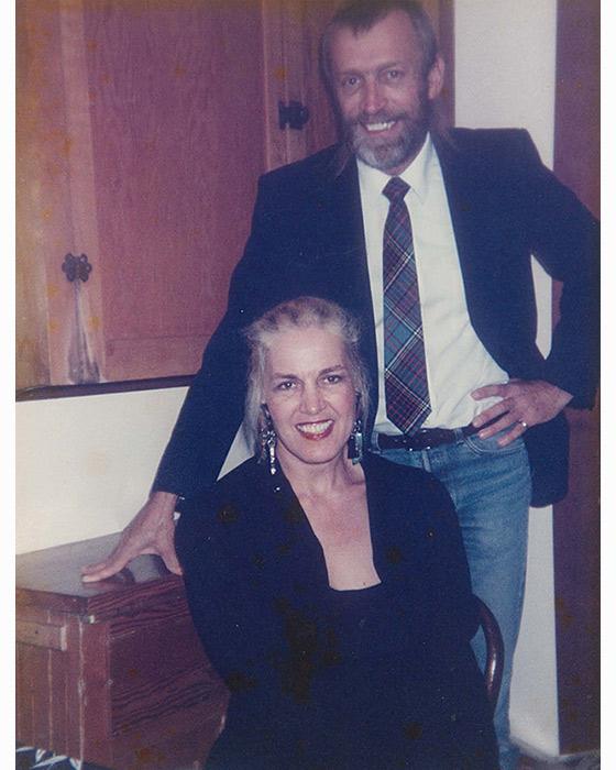 Linda J. Albertano and brother James AA Stone