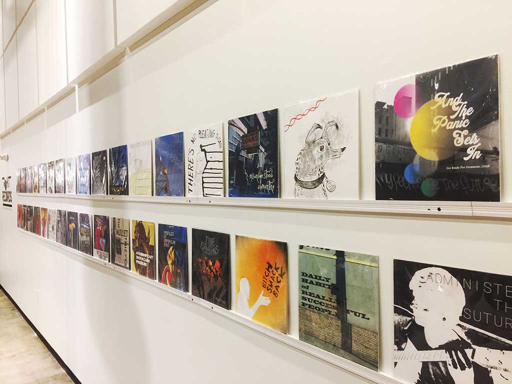 """Rohitash Rao Makes Cool Stuff (most of the time, he says) – The """"Album Cover"""" exhibit at Google in Venice is just one of the 12 things we love about him"""
